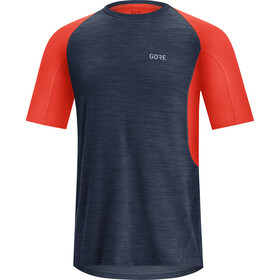 GORE WEAR R5 Shirt Heren, orbit blue/fireball